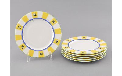 Набор тарелок десертн. 6шт. 17см 02160327-0317 Сабина Лесные ягоды, Leander