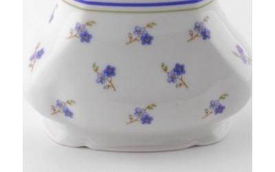 Ваза 19см большая 03118213-0887 Мэри-Энн Синие цветы, Leander