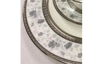 Набор тарелок 18 предметов на 6 персон Киото EMPL-8239GY-2, Japonica