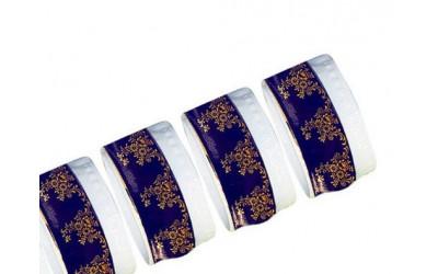 Набор колец для салфеток 6шт 02164611-0179 Мэри-Энн Мадонна кобальт, Leander