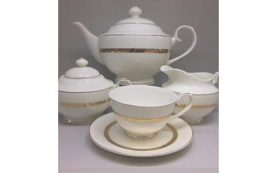 """Сервиз чайный 17 предметов на 6 персон """"Рокка"""", Japonica"""