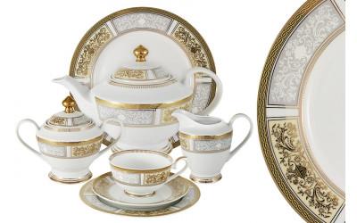 Чайный сервиз Августина 42 предмета на 12 персон