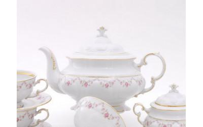 Чайник 0,35л 07120724-0158 Верона, Мелкие цветы, отводка золото, Leander