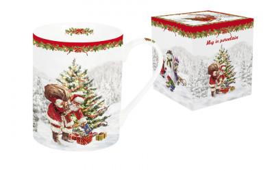 Кружка (белая) Рождественская елка