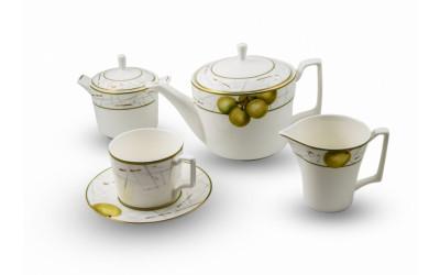 """JDWX1601-4 Сервиз чайный 6перс.17пред.""""Семильон"""" JDWX1601-4"""