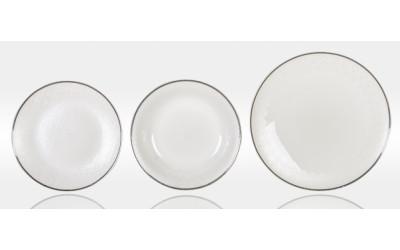 Набор тарелок 6перс.18пред. Модерн JD61133-2