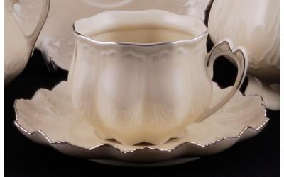 Набор чашек с блюдц. 0,20л 6 шт 62560415-2215 Виктория, Leander
