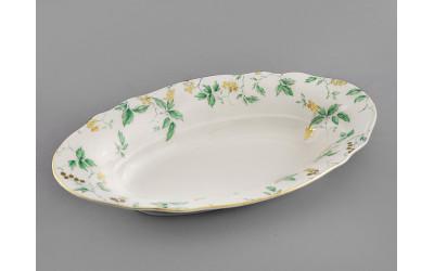 Корзина для хлеба 33см 03112816-1381 Мэри-Энн Зеленые листья, Leander