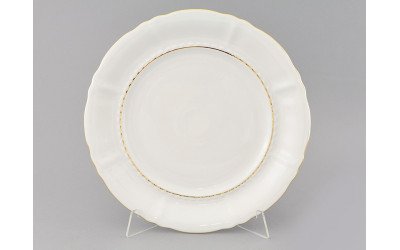 Блюдо круглое мелкое 32см 07111315-1139 Соната Отводка золото, Leander
