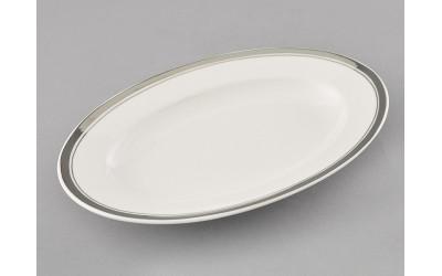 Блюдо для гарнира овальное 22см 02111735-0011 Отводка платина, Leander