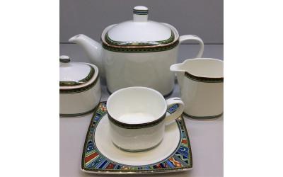 Сервиз чайный 17 предметов на 6 персон Авангард JDTL-4, Japonica