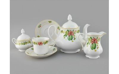 Сервиз чайный 15 предм 03160725-2571 Мэри-Энн Шишки, Leander