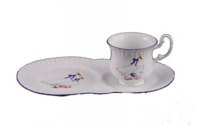 Сервиз чайный для завтрака из 2предм. 28120815-0807 Гуси, Leander