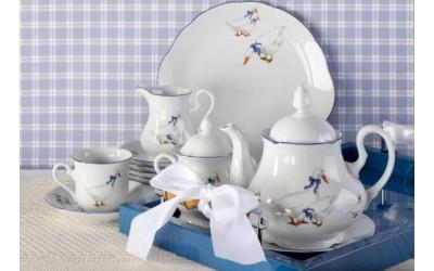 Сервиз чайный 15 предм 03160725-0807 Гуси, Leander