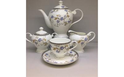 """Сервиз чайный 17 предметов на 6 персон """"Грация"""" JDYSQH-4, Japonica"""