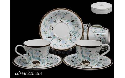 555-083 чайный набор 12предм РАЙСКАЯ ПТИЦА