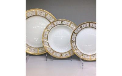 Набор тарелок 18 предмета на 6 персон Оригами GMEMGD-4268M-2, Japonica