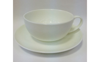 "Чашка с блюдцем 350мл ""Ажур"" JDWX092-8"