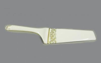 Лопатка для торта 07117515-1373 Соната Золотой орнамент, отводка золото, Leander