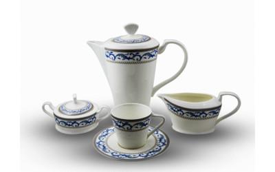 "JD150124-4 Сервиз чайный 6перс.17пред.""Наоми"" JD150124-4"