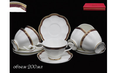 225-001 чайный набор 12предм ШАРКОН
