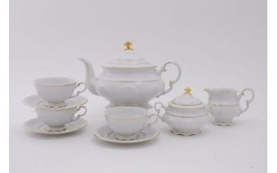 Сервиз чайный 15 предм. 07160725-1139 Соната Отводка золото, Leander