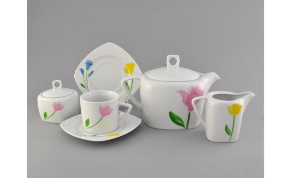 Сервиз чайный 15 предм. 69160725-1036 Весенний букет, Leander