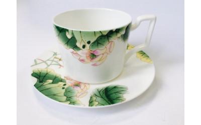 Набор чайных пар 2перс.4пред. Нимфея JDSHHH-3