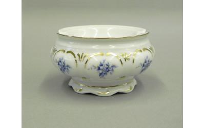 Пепельница 8,5см 07114813-0009 синие цветы, Leander