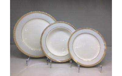 Набор тарелок 18 предметов на 6 персон Голубая лесенка J04-185S-2, Japonica