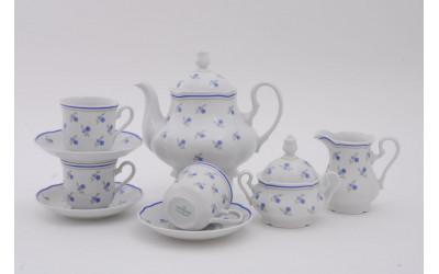 Сервиз чайный 15 предм 03160725-0887 Мэри-Энн Синие цветы, Leander