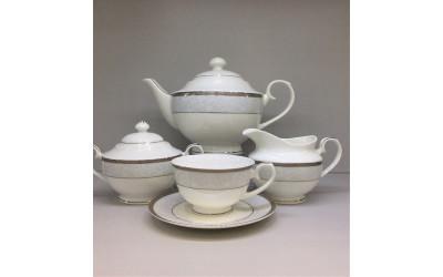 """Сервиз чайный 15 предметов на 6 персон """"Кружевница"""", Japonica"""