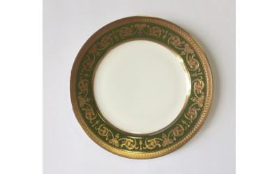 Набор тарелок закусоч 6шт Малахит EMGD-4260D.GR-22