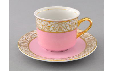 Чашка высокая с блюдцем 0,20л 02120415-234K