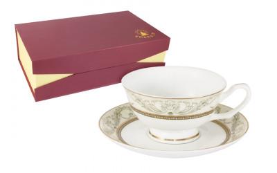 Набор 12 предметов Романтика : 6 чашек + 6 блюдец