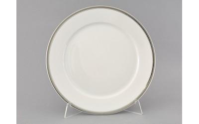 Блюдо круглое мелкое 30см 02111333-0011 Отводка платина, Leander