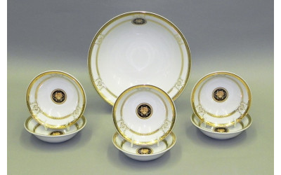 Набор салатников 7 предм. 02161416-A126 Версаче золотая лента, Leander