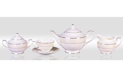 Сервиз чайный 6/17 Серый шелк PL-8008PLem-4