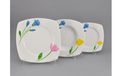 Набор тарелок 18 предм. 69160119-1036 Весенний букет, Leander